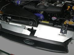 Carbing Air Diversion Plate Aluminium to Suit WRX/Sti 03-05 Peanut Eye