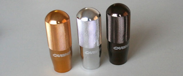 Carbing Shift Knob Gold. 12 x 1.25
