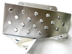 Carbing Drivers Foot Rest Aluminium