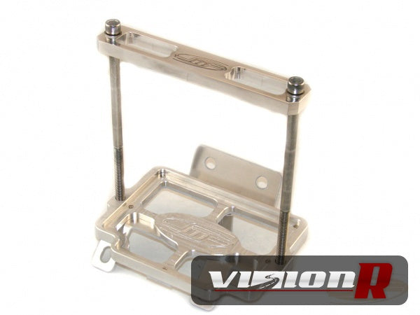 JMF CNC billet Battery Tray to suit PC925 battery. Stock air box need modification. Used for short r