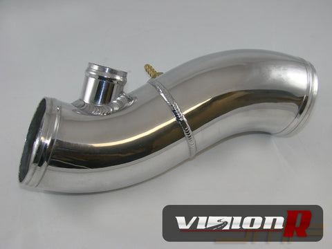 JM Fabrications Aluminium Hard intake pipe, 3 inch, INCLUDES couplers/clamps.