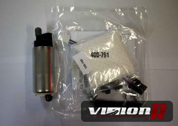 Walbro 255 GSS-341 + Walbro fitting kit. Genuine Made in USA.