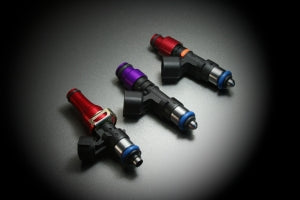 Injector Dynamics 1000cc injectors set of 6 with plug and play adaptors