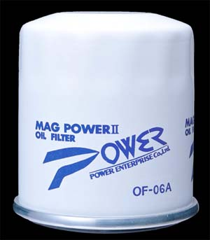 Power Enterprise MAG II oil filter