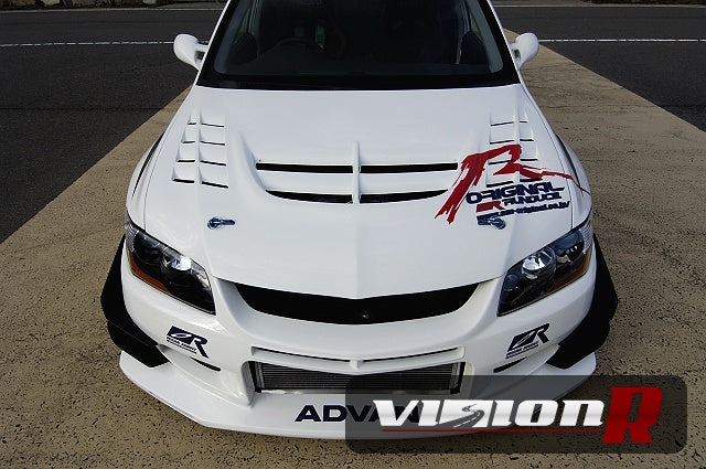 Voltex Street Version 2 front bumper. Canards and front net set optional.