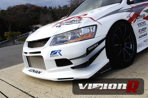 Voltex twin canard urethane used with Voltex street bumpers. 1 set 4pcs included.