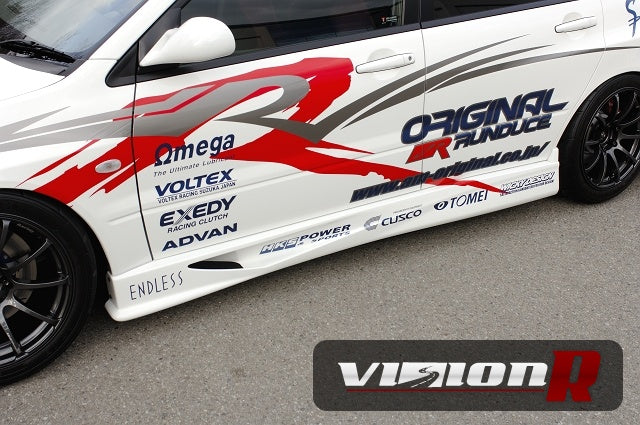 Voltex side skirts per pair.