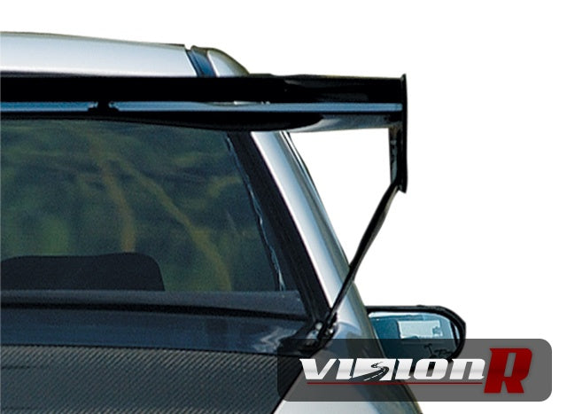 Voltex GT wing WC type 5V. Includes specific mount set to suit Evo CT9A boot holes.