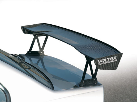 Voltex GT wing type 4 1500mm WC. Optional base mounts available to fit into stock mounted holes.