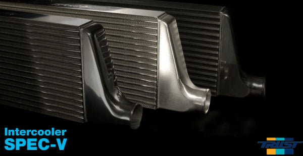TRUST V-spec intercooler kit includes piping.