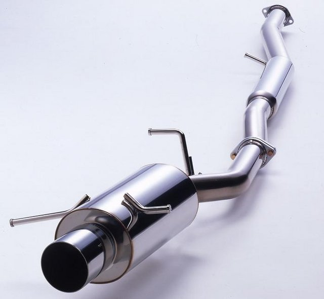 HKS Silent Hi Power cat back exhaust stainless steel