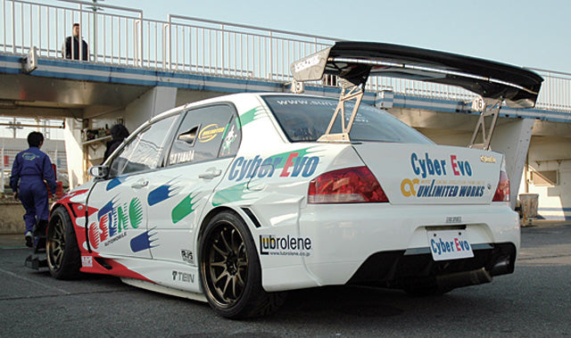 Voltex rear over fender.