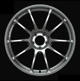 ADVAN RZ, Gun Metal, 18 x 9, 5x114.3, +25, GTR offset. Set of 4.