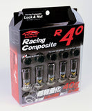 Project Kics R40 Classic, 20 pcs with wheel locking nuts. M12 x 1.25