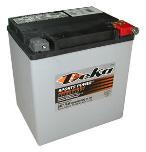 Deka Mini Battery 310CCA. Used with mini battery trays to clear intercooler piping.