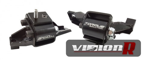 Torque Solution billet engine mounts to suit and direct replace OEM mounts.