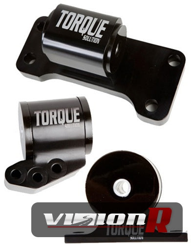 Torque Solution Engine mount set 3pc. To suit 5spd only.
