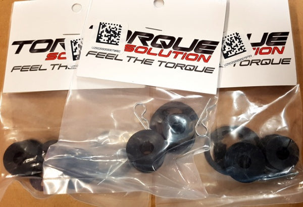 Torque Solution Shift cable bushing to suit 5spd JDM, 2 bushing both same smaller size.