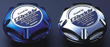 Greddy Oil Filler Cap. Suit Subaru. Type-5. Silver