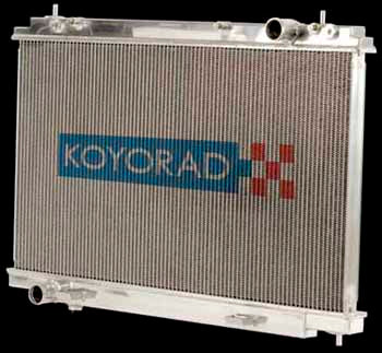Koyo Full Aluminium Radiator. 53mm Core. Half Size
