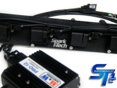 Spark Tech Basic CDI system with M&W; Pro-12 CDI box include black powder coated mounting plate.