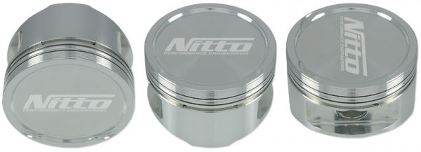"Nitto/JE Piston kit. 86.5mm/+0.020"" Suit Nissan RB30"