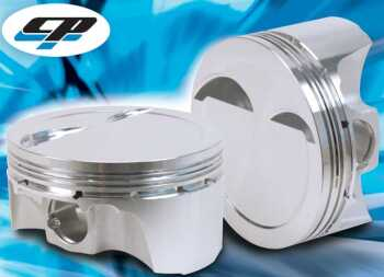 CP piston kit 86.5mm Bore- 3.406 (86.5) Size- + 0.5mm Comp Height- 1.193 Comp Ratio- 8.5