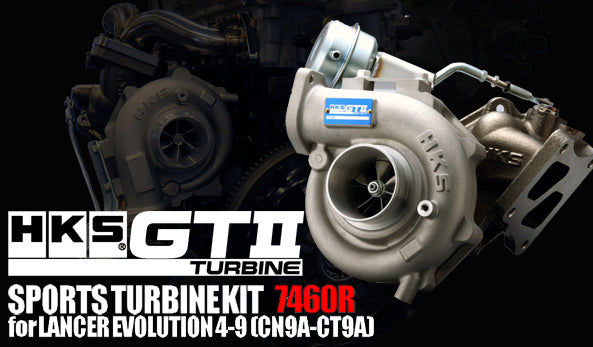 HKS TURBO KIT GTII 7460R. Includes fitting kit for bolt on.