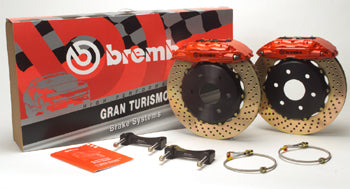 6 x 4 Piston Front and Rear full big brake kit including Calipers, Rotors, lines, pads.