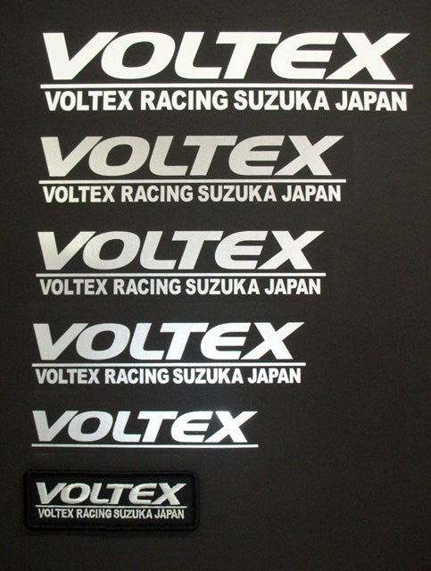 Voltex Sticker Silver 195mm