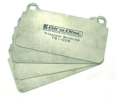 Girodisc FRONT Titanium Brake Shims. Sold as per pair.