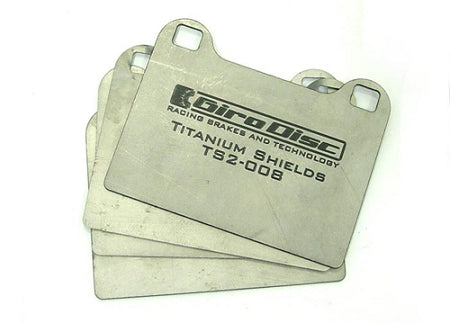 Girodisc REAR Titanium Brake Shims. Sold as per pair