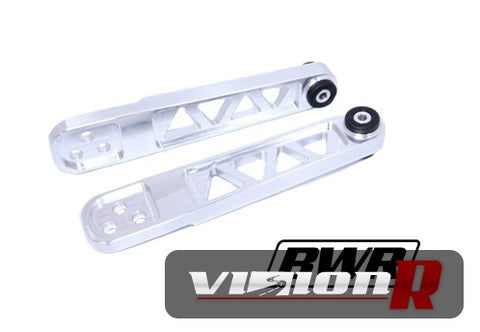 BWR USA high quality Billet T6 rear lower control arms are CAD designed and machined in the USA.