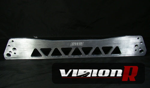 BWR rear subframe brace. Made from high quality CNC AL6061-T6 billet aluminum. Made in USA
