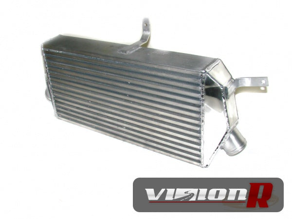 "JM Fabications intercooler. Made from Garrett Core. Dimensions are 23.7"" x 12"" x 3.8""."