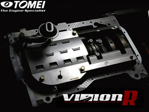 Tomei Slicing Baffle kit for Evo 8/9.