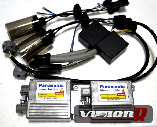 FALCON H4 Hi-Lo 6000k HID kit. Made in Japan Panasonic Ballast & German Philips Burner. 100% Genuine