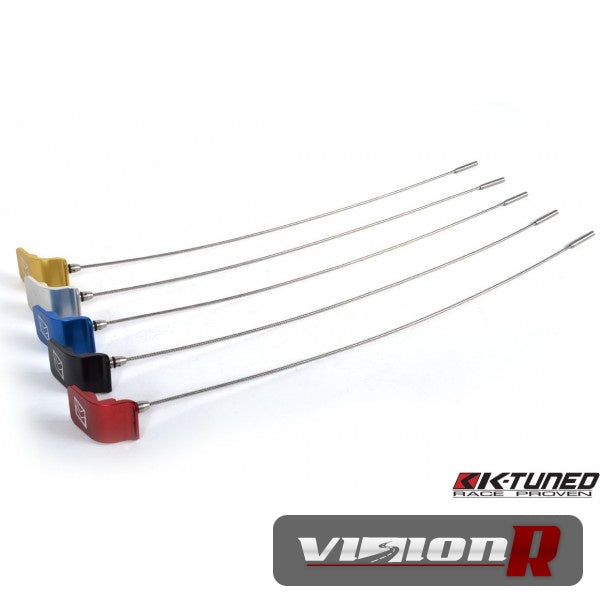 K-Tuned Billet Oil Dipstick for K20A. K-series 2.0L Engines. Silver