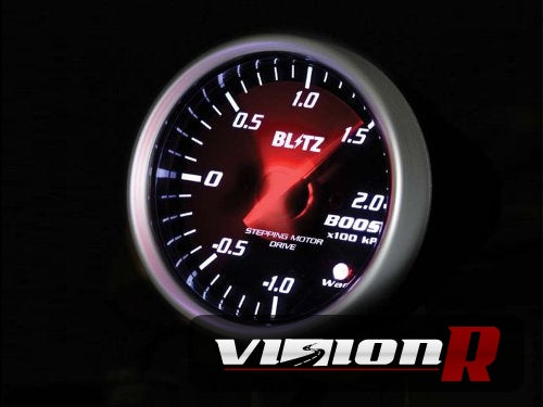 Blitz SD Gauge Boost 60mm Electronic. Light up white.