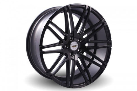 NAYA WHEELS MEGA Matt Black. 20 x 9.5, 5x120 +40. Set of 4