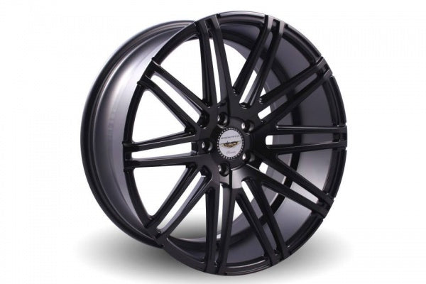 NAYA WHEELS MEGA Matt Black. 20 x 9.5, 5x114.3 +40. Set of 4