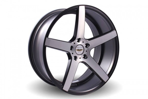 NAYA WHEELS Shodea Brushed Silver. 20 x 8.5, 5x120 +42. Set of 4
