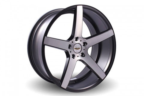 NAYA WHEELS Shodea brushed silver. 20 x 9.5, 5x114.3 +40. Set of 4