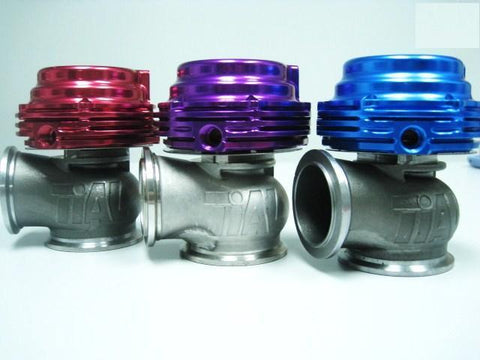 TIAL MV-R 44mm wastegate in Purple V-Band to suit most turbo applications. Comes with springs clamps