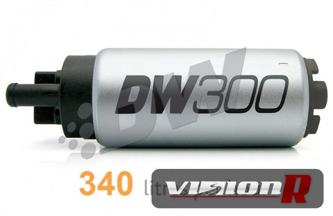 DW300 rated at 340lph in tank. Universal kit.