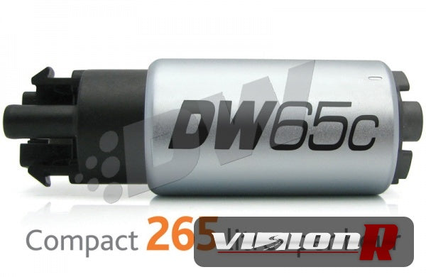 DW65c rated at 265lph in tank specific fitment. Compact series.