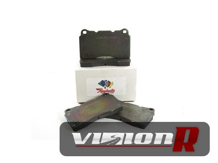 Raybestos ST-43 rear brake pads to suit Brembo calipers.