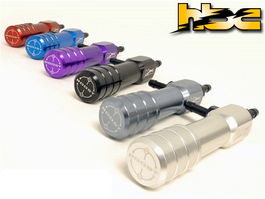Hallman Pro Boost controller with new pro valve includes fitting Kit. Silver color.