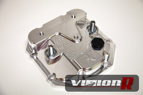 Frontline Fabrication Evo 1-9 Girdled rear Diff cover.