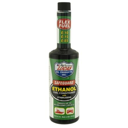 Lucas Safeguard Ethanol (E85) Fuel stabiliser and conditioner. Treats up to 300L